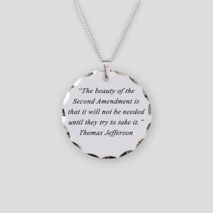 Jefferson - Second Amendment Necklace