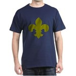 New Orleans Themed Dark T-Shirt