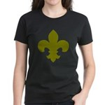 New Orleans Themed Women's Dark T-Shirt
