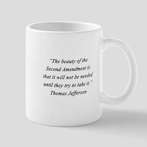 Jefferson - Second Amendment Mugs