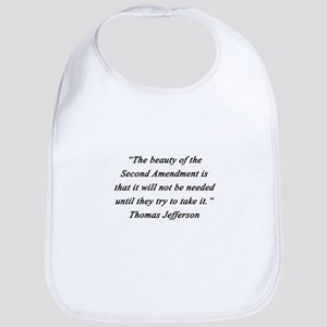 Jefferson - Second Amendment Baby Bib
