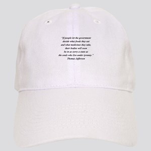 Jefferson - What Foods Baseball Cap