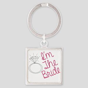 Im the bride Keychains