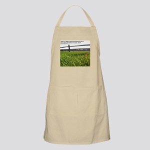 Push and Grow quote Apron
