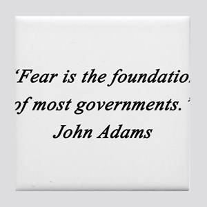 Adams - Fear Foundation Tile Coaster