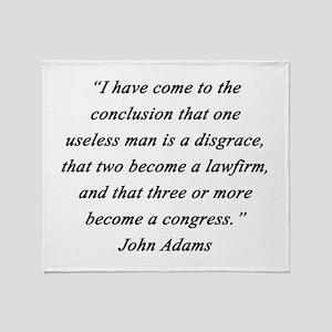 Adams - Useless Men Throw Blanket