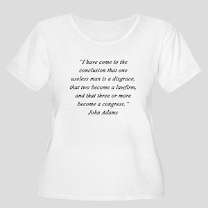 Adams - Useless Men Plus Size T-Shirt