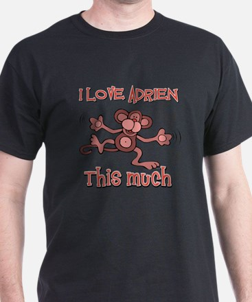 I love Adrien this much T-Shirt