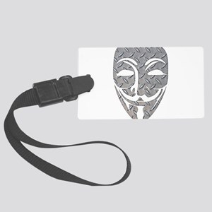Anon Mask Luggage Tag