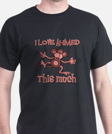 I love Ahmed this much T-Shirt