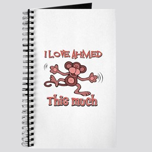 I love Ahmed this much Journal