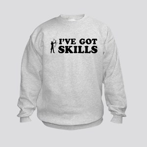 I've got Archery skills Kids Sweatshirt