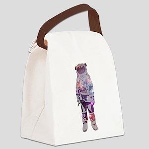Astronaut Canvas Lunch Bag