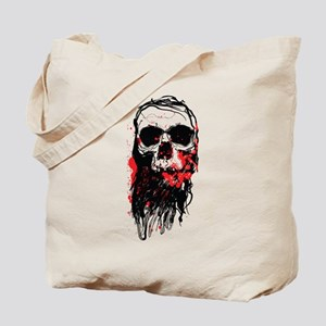 Blood Skull Tote Bag