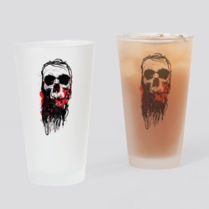 Blood Skull Drinking Glass