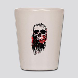 Blood Skull Shot Glass
