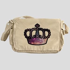 Cosmic Crown Messenger Bag
