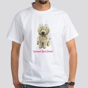 Woman's Best Friend White T-Shirt