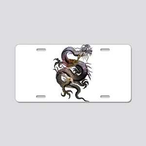 Dragon Aluminum License Plate