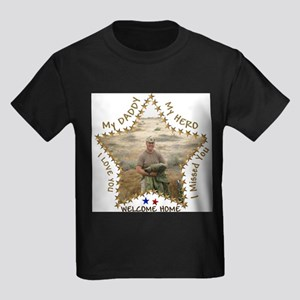 My Daddy - My Hero Kids T-Shirt