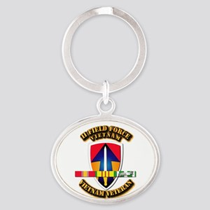 II Field Force Oval Keychain
