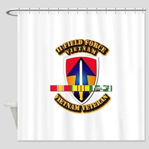 II Field Force Shower Curtain