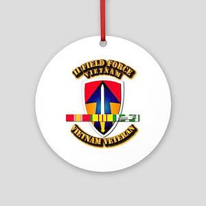II Field Force Ornament (Round)