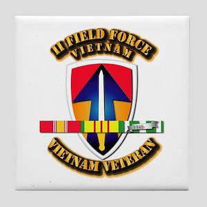 II Field Force Tile Coaster