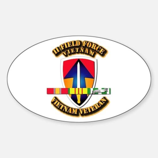 II Field Force Sticker (Oval)