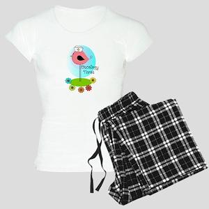 RN ff bird ONCOLOGY NURSE Pajamas