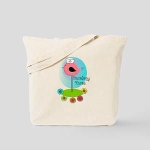 RN ff bird ONCOLOGY NURSE Tote Bag
