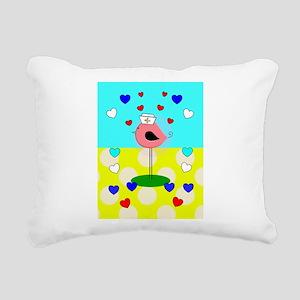RN ff bird 6 Rectangular Canvas Pillow