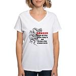 I know jiu jitsu Women's V-Neck T-Shirt