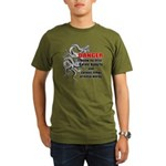 I know jiu jitsu Organic Men's T-Shirt (dark)