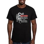 I know jiu jitsu Men's Fitted T-Shirt (dark)