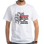I know jiu jitsu White T-Shirt
