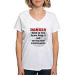 I know jiujitsu Women's V-Neck T-Shirt