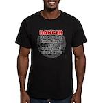 I know jiujitsu Men's Fitted T-Shirt (dark)
