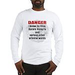 I know jiujitsu Long Sleeve T-Shirt