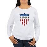 Reagan Patriot Shield Long Sleeve T-Shirt
