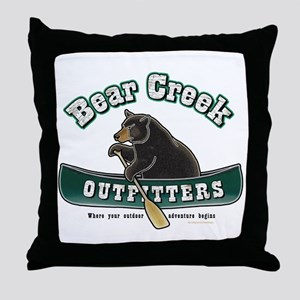 Bear Creek Outfitters Throw Pillow
