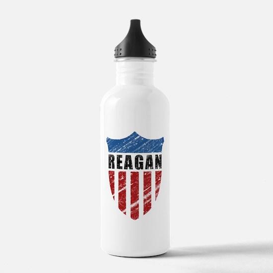 Reagan Patriot Shield Water Bottle