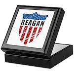 Reagan Patriot Shield Keepsake Box