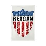Reagan Patriot Shield Rectangle Magnet (100 pack)