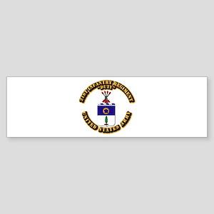 COA - Infantry - 21st Infantry Regiment Sticker (B