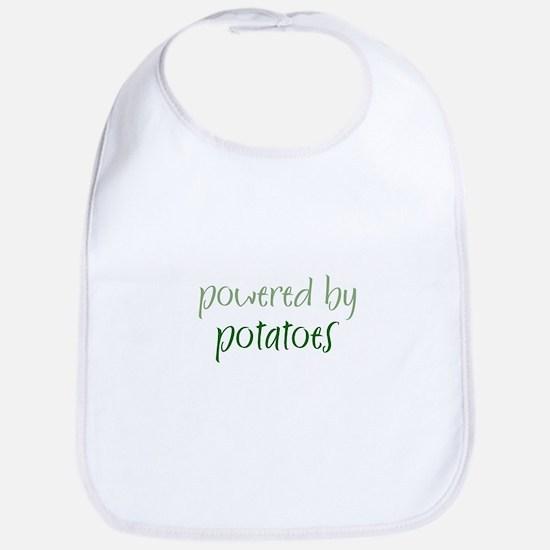 Powered By potatoes Bib