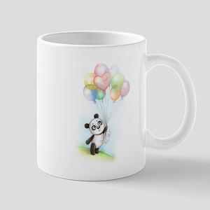 Panda and balloons Mug