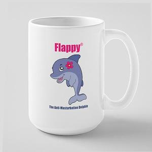 Flappy The Anti-Masturbation Dolphin Mug