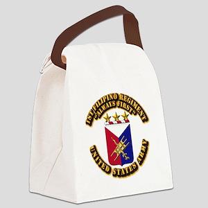 COA - Infantry - 1st Filipino Regiment Canvas Lunc