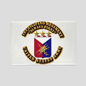 COA - Infantry - 1st Filipino Regiment Rectangle M
